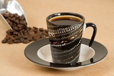 Free Cup Of Coffee Royalty Free Stock Image - 5198536