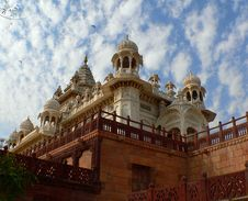 Free Indian Raj Memorial Jaswant Thada Stock Image - 5199031