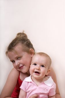 Free Girl And Baby Stock Photography - 5199532