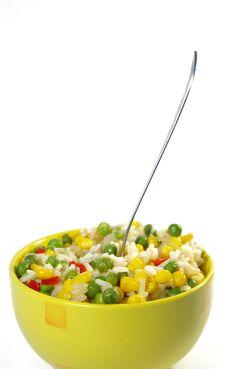 Free Vegetarian Food. Risotto Royalty Free Stock Image - 5199646