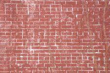 Free Beat Up Brick Wall Stock Image - 5199701