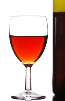 Free Wineglass Stock Photo - 5199880