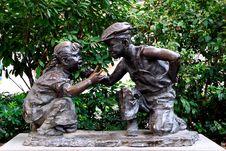 Free Shameen Bronze Statue Stock Photo - 51973290