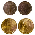 Free Two Old Greek Coins Royalty Free Stock Photos - 51980408