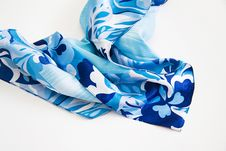 Free Patterned Silk Scarf Royalty Free Stock Photography - 51994567