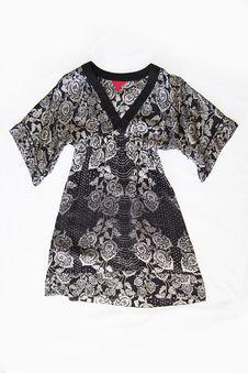 Free Black Japan Kimono Dress Stock Photo - 51994660