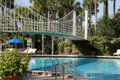 Free Bridge Over Pool Stock Photos - 520823