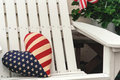 Free Patriotic Chair Royalty Free Stock Photos - 521878