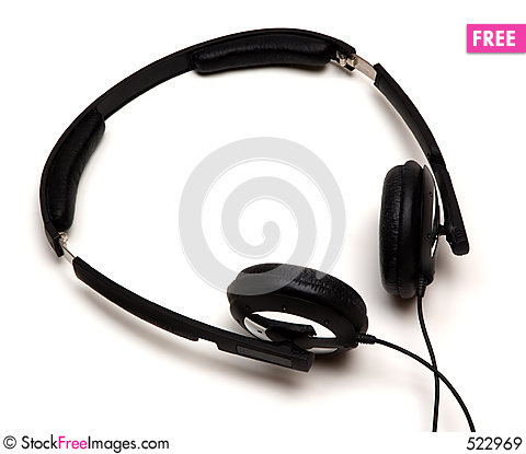 Free Headphones Royalty Free Stock Images - 522969
