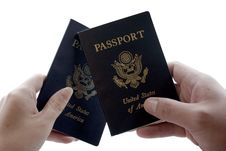 Free Two Passports Stock Photography - 520112