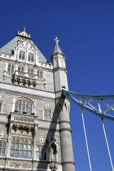 Free Tower Bridge And Sky Stock Image - 520451