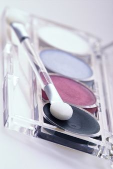 Eyeshadow Kit Royalty Free Stock Photography