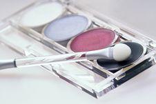 Free Eyeshadow Kit Royalty Free Stock Photos - 520538