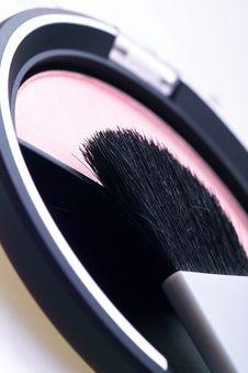 Free Rouge Kit Blush Powder Stock Image - 520541