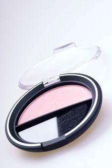 Free Rouge Kit Blush Powder Royalty Free Stock Photo - 520545