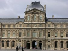 Free Louvre Royalty Free Stock Images - 521369