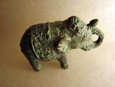 Free Elephant Knick-Knack Royalty Free Stock Photo - 523125