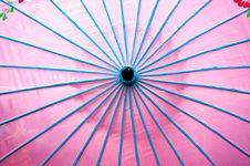 Free Pink Parasol Royalty Free Stock Image - 523386