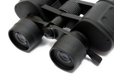 Binoculars Front - Detail View Royalty Free Stock Photo