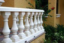 Free White Balustrade Stock Photos - 523603