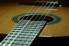 Free Spanish Guitar Royalty Free Stock Photography - 523677