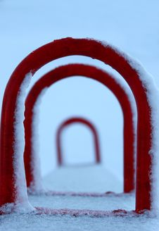 Free Winter Playground Stock Photo - 524570