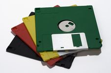 Free Diskettes Royalty Free Stock Photos - 524658