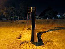 Free Night Slide Royalty Free Stock Image - 525106