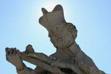 Free Saint With Corona Stock Photography - 525302