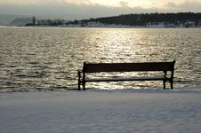 Free Bench At Sunrise Stock Photos - 526153