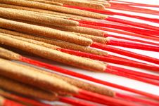 Free Hand-rolled Indian Incense Stock Photography - 526872