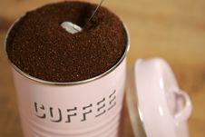 Free Fresh Coffee Royalty Free Stock Photos - 527028