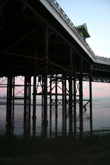 Free Blackpool Pier - Close Up Royalty Free Stock Photography - 527197