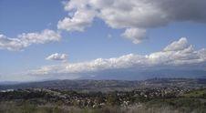 Free California Vista Royalty Free Stock Photography - 527337
