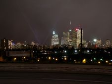 Free Lonly Street & Downtown Toronto Stock Photos - 527413