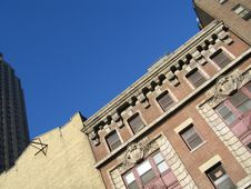Free Buildings, Blue Sky Nyc Royalty Free Stock Photography - 527797