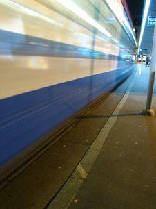 Free Speeding Train Stock Photos - 528163