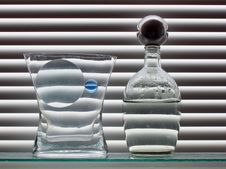 Free Still Life With Blue Glass Ball Royalty Free Stock Images - 528169