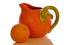 Free Orange And Pitcher Stock Image - 529091