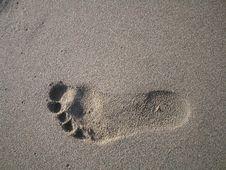 Free Footprint Stock Image - 529321