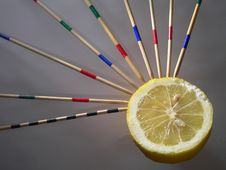 Free Lemon Perforate Stock Image - 529481