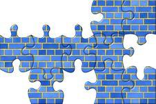 Free Puzzle Brick Royalty Free Stock Image - 529796