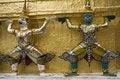 Free Figures In The Royal Palace, Bangkok Stock Photography - 5206782