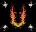 Free Spiders&fire Stock Photo - 5207750