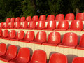 Free Red Chairs Royalty Free Stock Photo - 5208365