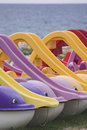 Free Dolphin-shaped Water Bicycles Stock Photo - 5208770