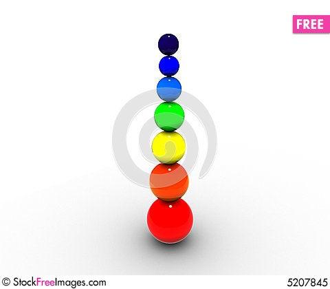 Free Spher Rainbow Royalty Free Stock Photo - 5207845