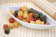 Free Pasta Tricolore Stock Photo - 5200780