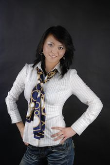 Free Asian Woman Stock Image - 5200791