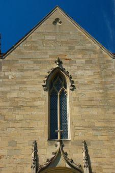 Window In Gothic Architecture Style Royalty Free Stock Images